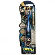SmileGuard Batman Turbo Power электрическая детская зубная щетка на батарейке от 6 лет мягкая
