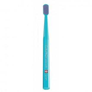 Curaprox Smart голубая с розовой щетиной щетка для детей от 5 лет Ultrasoft