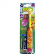 SmileGuard Moshi Monsters Turbo Pawer детская электрическая зубная щетка на батарейке мягкая От 3-х лет.