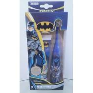 SmileGuard Batman Turbo Set детский набор от 6 лет (Зубная паста, элекстрическая щетка мягкая)
