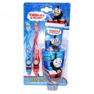 SmileGuard Thomas Friends Dental Set Набор: 2 зубные щетки, стаканчик и зубная паста 75 мл