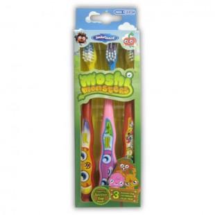 SmileGuard Moshi Monsters MM-17 Набор детских зубных щёток (3шт)