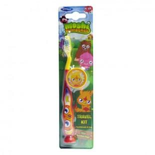 SmileGuard Monster High Toothbrush with cap зубная щётка на присоске с колпачком
