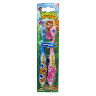 SmileGuard Monster MM-9 набор зубных щёток для детей от 3 лет (2шт)