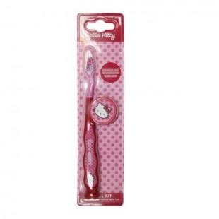 Hello Kitty HK-3 зубная щётка на присоске с колпачком
