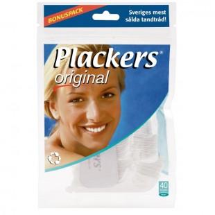 Plackers Original зубная нить с зубочисткой