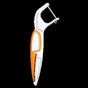 Plackers Orthopick зубная нить с зубочисткой