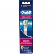 Braun Oral-B Floss Action (2шт.) насадки для электрических зубных щёток