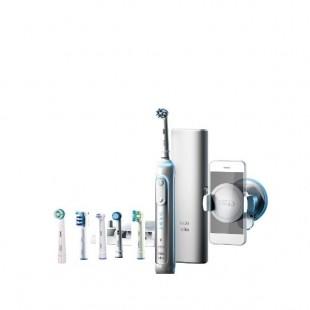 Braun Oral-B PRO Genius 8000 Bluetooth D701.565.5XC зубная электрическая щетка (6 насадок)