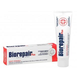 Biorepair Plus Sensitive зубная паста для чувствительных зубов (75 мл)
