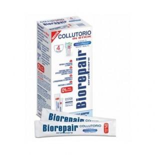 Biorepair 4-action mouthwash ополаскиватель в стиках 144 мл. (12 шт по 12 мл.)