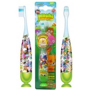 Moshi Monsters FIREFLY MM-5 зубная щётка на присоске с таймером-подсветкой