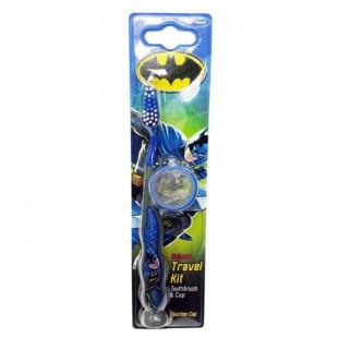 Batman Toothbrush With Cap зубная щётка для детей от 3 лет