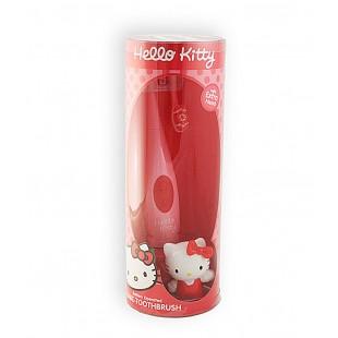 SmileGuard Hello Kitty Sonic toothbrush Электрическая детская зубная щетка на батарейке с насадкой от 3 лет