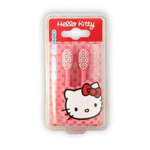Hello Kitty комплект насадок с мягкой щетиной от 3 лет для щетки Hello Kitty Sonic