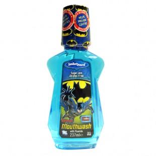 Bubble Gum Batman GDBM-2 ополаскиватель полости рта с флюоридом, от 6-ти лет, 237 мл