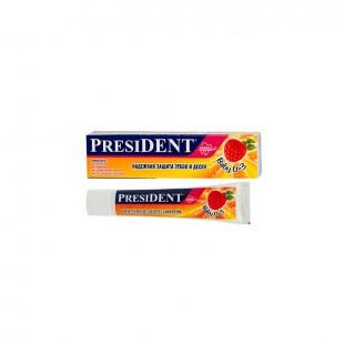 PresiDent Baby детская зубная паста 0-3 лет со вкусом малины 30 мл