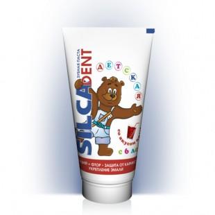 Детская зубная паста SILCADENT со вкусом Колы с 6 лет 65 мл.