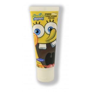 SmileGuard Spongebob Fluoride паста с флюоридом от 6 лет со вкусом жевательной резинки 75 мл.