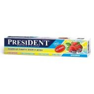 President Kids Клубника (без фтора)