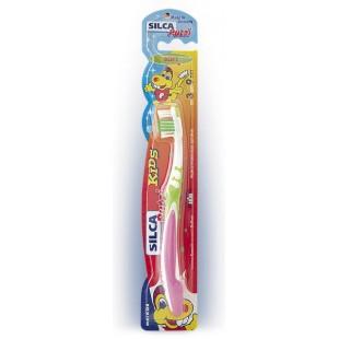 Детская зубная щетка SILCA Putzi Kids 3-9 лет