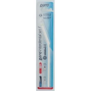 Интердентальный набор Paro System F Set ручка + 2 ершика 3-3,7 мм.