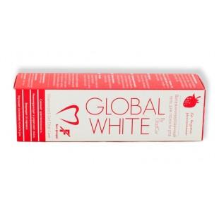 Витаминизированный гель Global White со вкусом Земляники