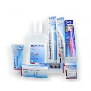 Paro Gigienic Set набор для носителей ортодонтических конструкций