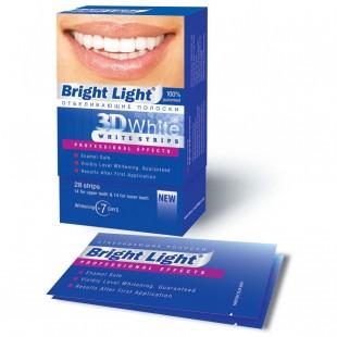 Bright Light 3D White Prof Effects дневные отбеливающие полоски
