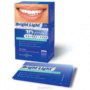 Bright Light 3D White Night Effects ночные отбеливающие полоски