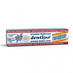 Dentipur halfcreme для фиксации протезов