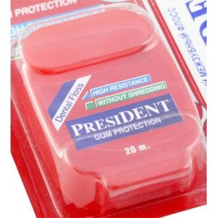 President Dental Floss Gum Protection 20 м. защита дёсен