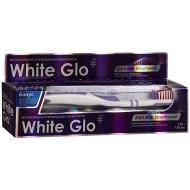 White Glo 2 в 1 с ополаскивателем и зубной щеткой, 100 мл.