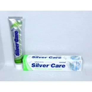 Зубная паста Silver Care Normal со фтором 75 мл.