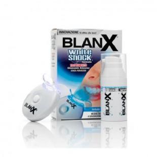 Зубная паста BlanX White Shock Treatment 30ml + Led Bite