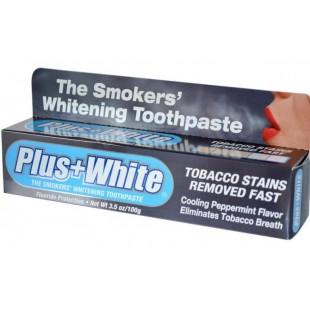Отбеливающая зубная паста для курильщиков Plus White The Smokers Whitening Toothpaste 100 мл.
