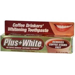 Отбеливающая зубная паста для любителей кофе Plus White Coffee Drinkers 100 мл.