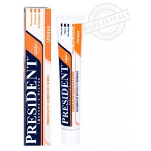Зубная паста President Unique 75 мл.
