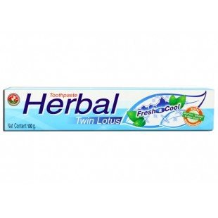 Twin Lotus Herbal Fresh Cool 100г Зубная паста