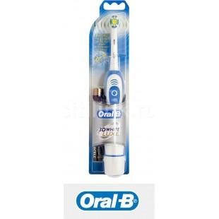 Электрическая зубная щетка на батарейках Braun Oral-B 3D White LUXE