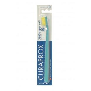 Curaprox CS 3960 Supersoft (0,12мм) зубная щетка бирюзовый-желтый