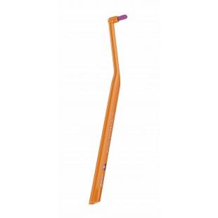 Curaprox CS 1009 Single&sulcular 9 мм монопучковая щетка оранжевый-сиреневый