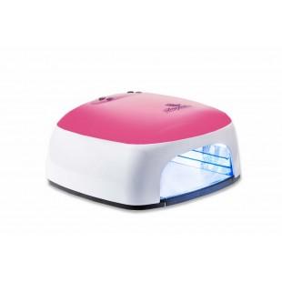 Dona Jerdona DJ-Д770Р Ультрофиолетовая Лампа 36 вт. с вентилятором розовая