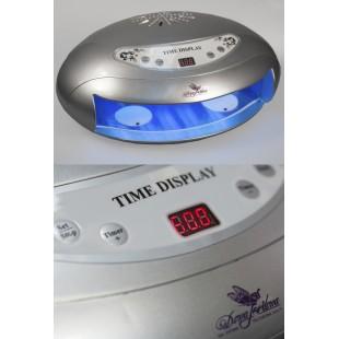 Dona Jerdona DJ-Д880-45 Ультрафиолетовая Лампа 45 вт. 45с вентилятором серебряная