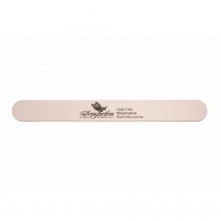 Dona Jerdona пилка для искусственных ногтей 120/150 овальная узкая белая