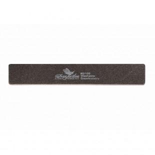 Dona Jerdona пилка для искусственных ногтей 80/100 прямоугольная широкая черная