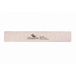 Dona Jerdona пилка для искусственных ногтей 80/120 прямоугольная широкая серая