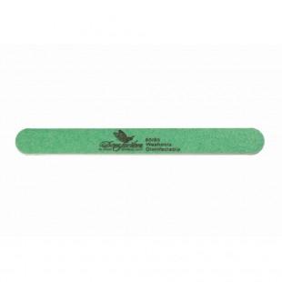 Dona Jerdona пилка для искусственных ногтей 80/80 овальная узкая зеленая