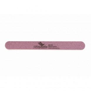 Dona Jerdona пилка для искусственных ногтей 80/80 овальная узкая сиреневая