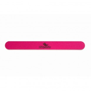 Dona Jerdona пилка для натуральных ногтей 150/180 овальная узкая розовая